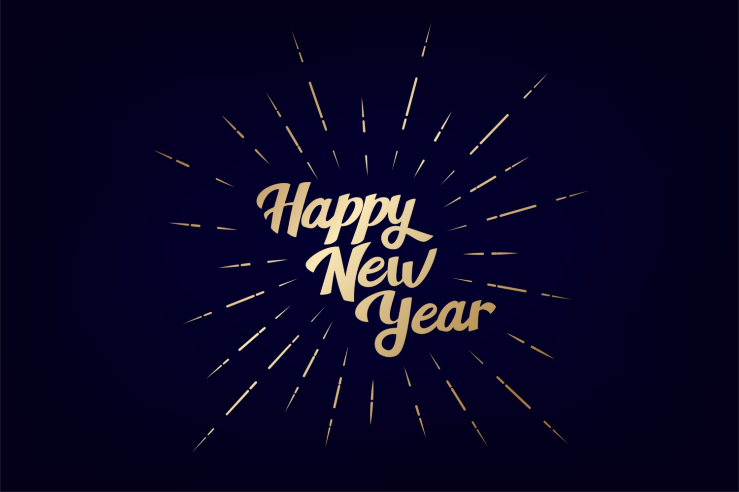 Download Free 2021 Happy New Year Vintage Lettering Graphic By Kapitosh for Cricut Explore, Silhouette and other cutting machines.