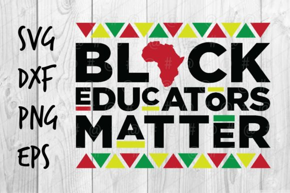 Black Educators Matter Graphic Crafts By spoonyprint