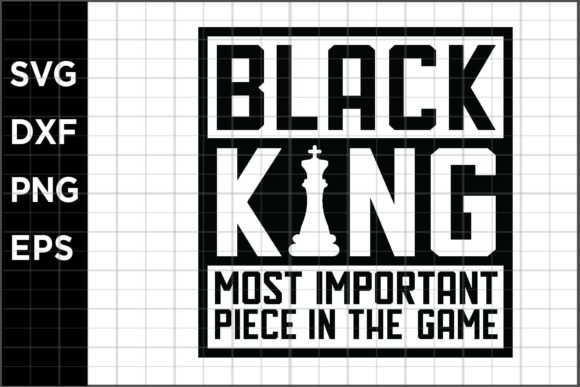 Download Free Black King Graphic By Spoonyprint Creative Fabrica SVG Cut Files