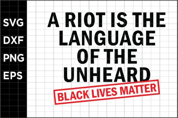 Download Free Black Lives Matter Quote 21 Graphic By Spoonyprint Creative for Cricut Explore, Silhouette and other cutting machines.