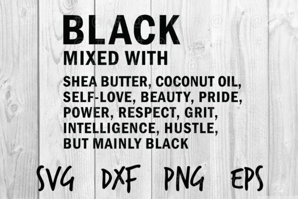 Download Free Black Mixed With 02 Graphic By Spoonyprint Creative Fabrica for Cricut Explore, Silhouette and other cutting machines.