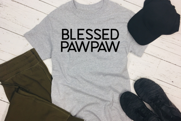 Blessed Pawpaw Graphic By Talia Smith Creative Fabrica