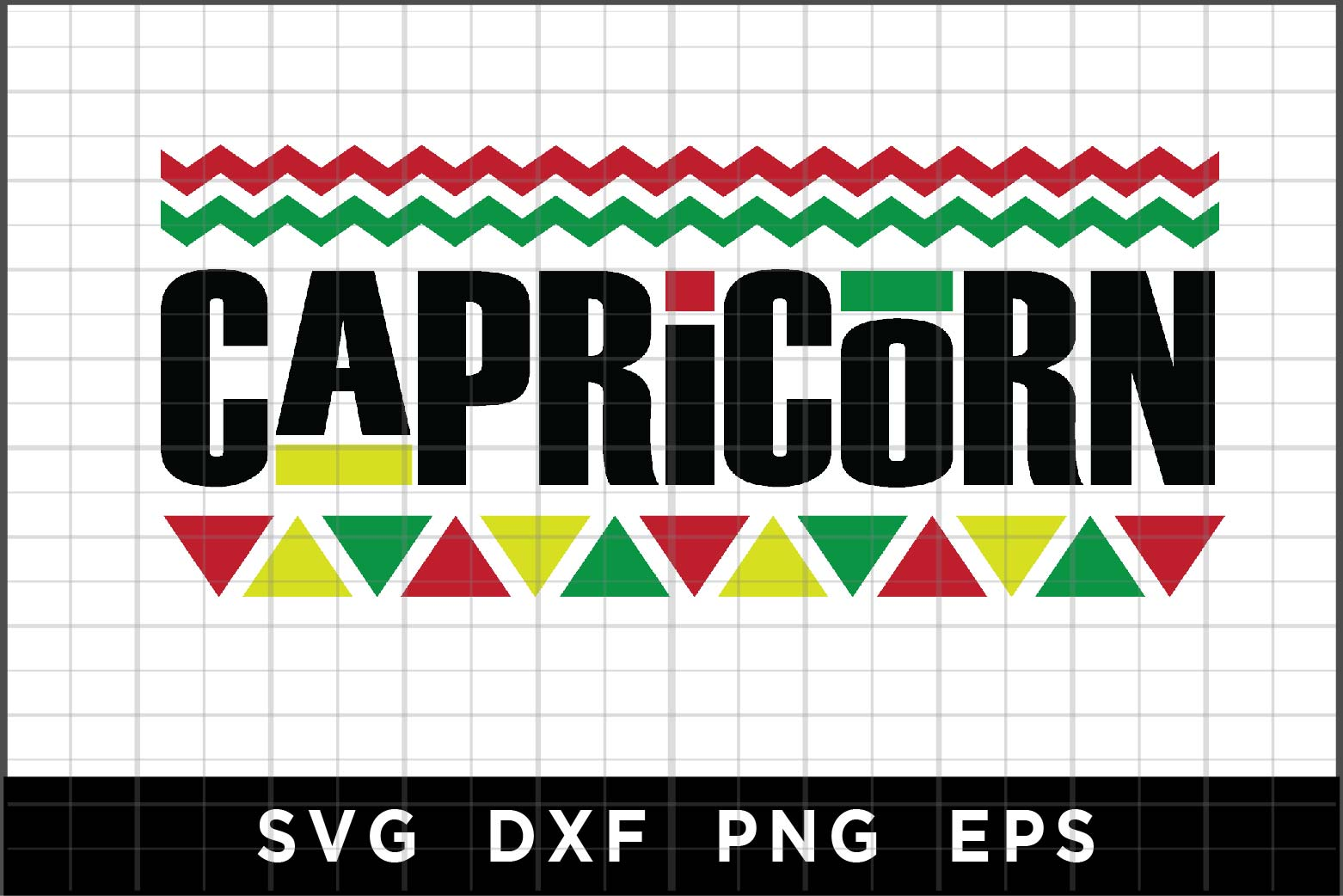 Download Free Capricorn Graphic By Spoonyprint Creative Fabrica for Cricut Explore, Silhouette and other cutting machines.