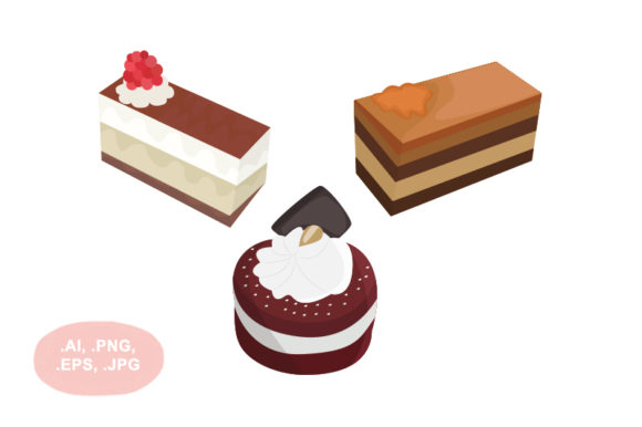 Download Free Cake Graphic By Salfiart Creative Fabrica for Cricut Explore, Silhouette and other cutting machines.