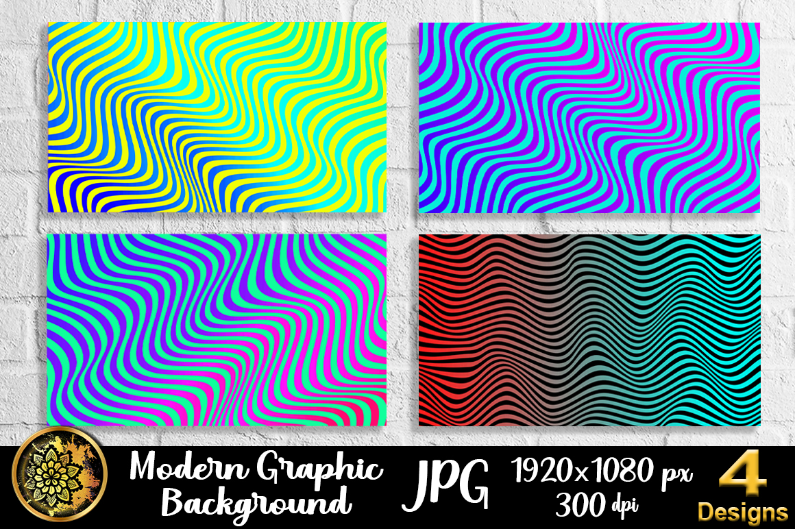 Download Free Graphic Design Wave Lineart Background 3 Graphic By V Design for Cricut Explore, Silhouette and other cutting machines.