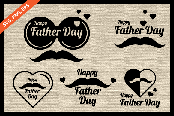 Download Free Happy Father S Day Bundle Graphic Graphic By Weemstock for Cricut Explore, Silhouette and other cutting machines.