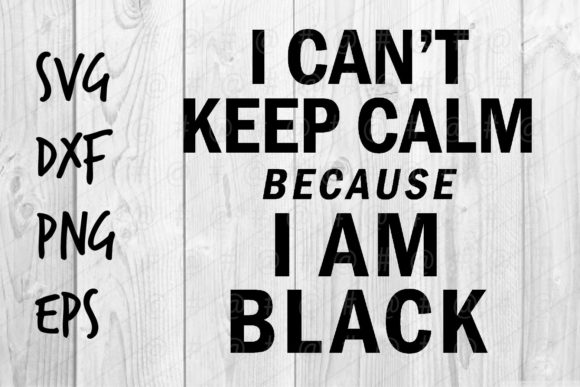 Download Free I Am Black Graphic By Spoonyprint Creative Fabrica for Cricut Explore, Silhouette and other cutting machines.