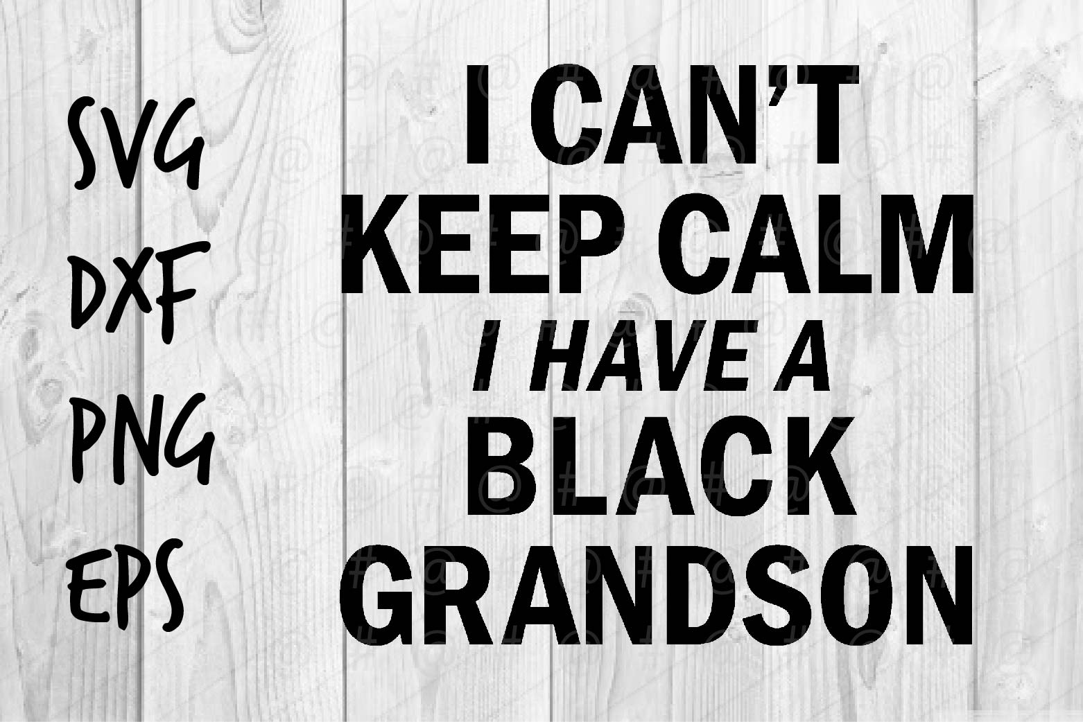 Download Free I Have Black Grandson Graphic By Spoonyprint Creative Fabrica for Cricut Explore, Silhouette and other cutting machines.