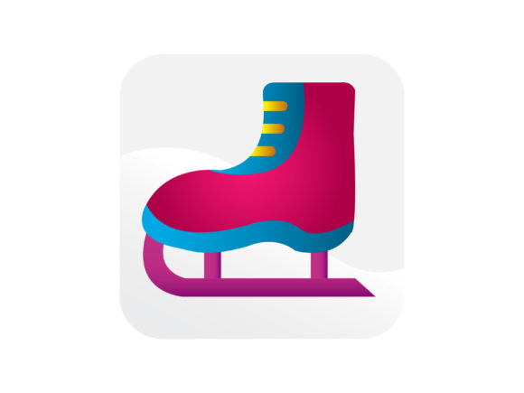 Download Free Ice Skating Shoes Icon Graphic By Samagata Creative Fabrica SVG Cut Files