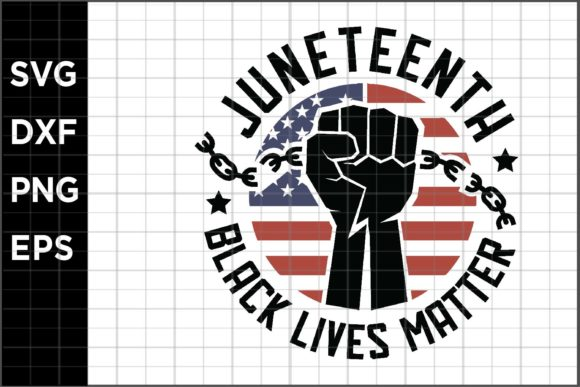 Download Free Juneteenth Graphic By Spoonyprint Creative Fabrica for Cricut Explore, Silhouette and other cutting machines.