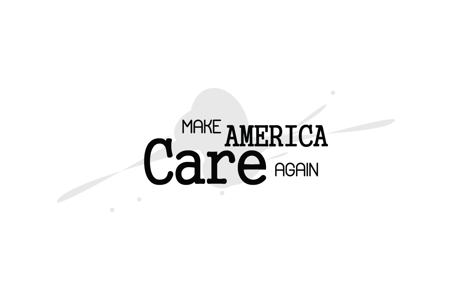 Download Free Make America Care Again Quote Svg Cut Graphic By Yuhana Purwanti for Cricut Explore, Silhouette and other cutting machines.