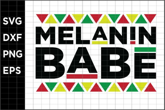 Melanin Babe Graphic Crafts By spoonyprint