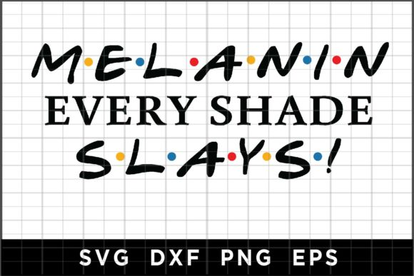 Download Free Melanin Slays Graphic By Spoonyprint Creative Fabrica for Cricut Explore, Silhouette and other cutting machines.