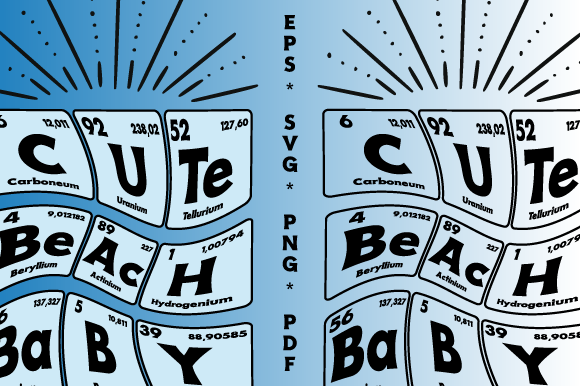 Download Free Periodic Table Gasthof German Vector Graphic By Graphicsfarm for Cricut Explore, Silhouette and other cutting machines.