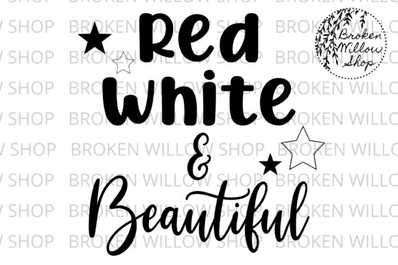 Download Free Red White Beautiful Svg Dxf Png Graphic By Broken Willow for Cricut Explore, Silhouette and other cutting machines.