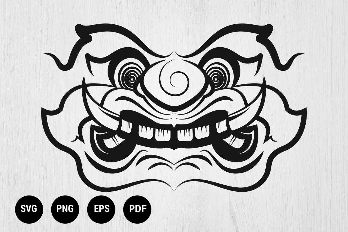Download Free Thai Art Ramayana Hanuman Monkey Graphic By 99 Siam Vector for Cricut Explore, Silhouette and other cutting machines.