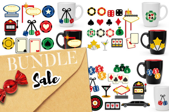 Download Free 1 Casino Clip Art Designs Graphics for Cricut Explore, Silhouette and other cutting machines.