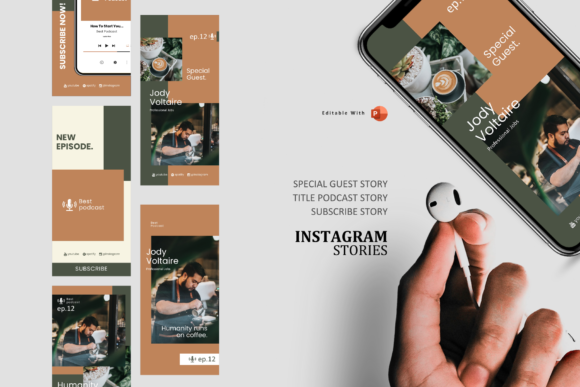 Download Free Coffee Stories And Posts Podcasting Talk Graphic By Rivatxfz Creative Fabrica SVG Cut Files