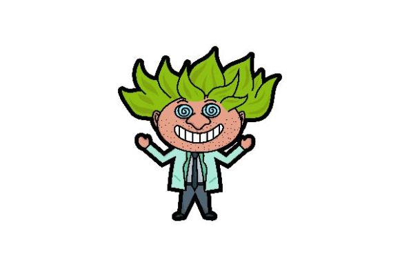 Download Free Crazy Scientists Laugh Vector Art Graphic By Firdausm601 for Cricut Explore, Silhouette and other cutting machines.