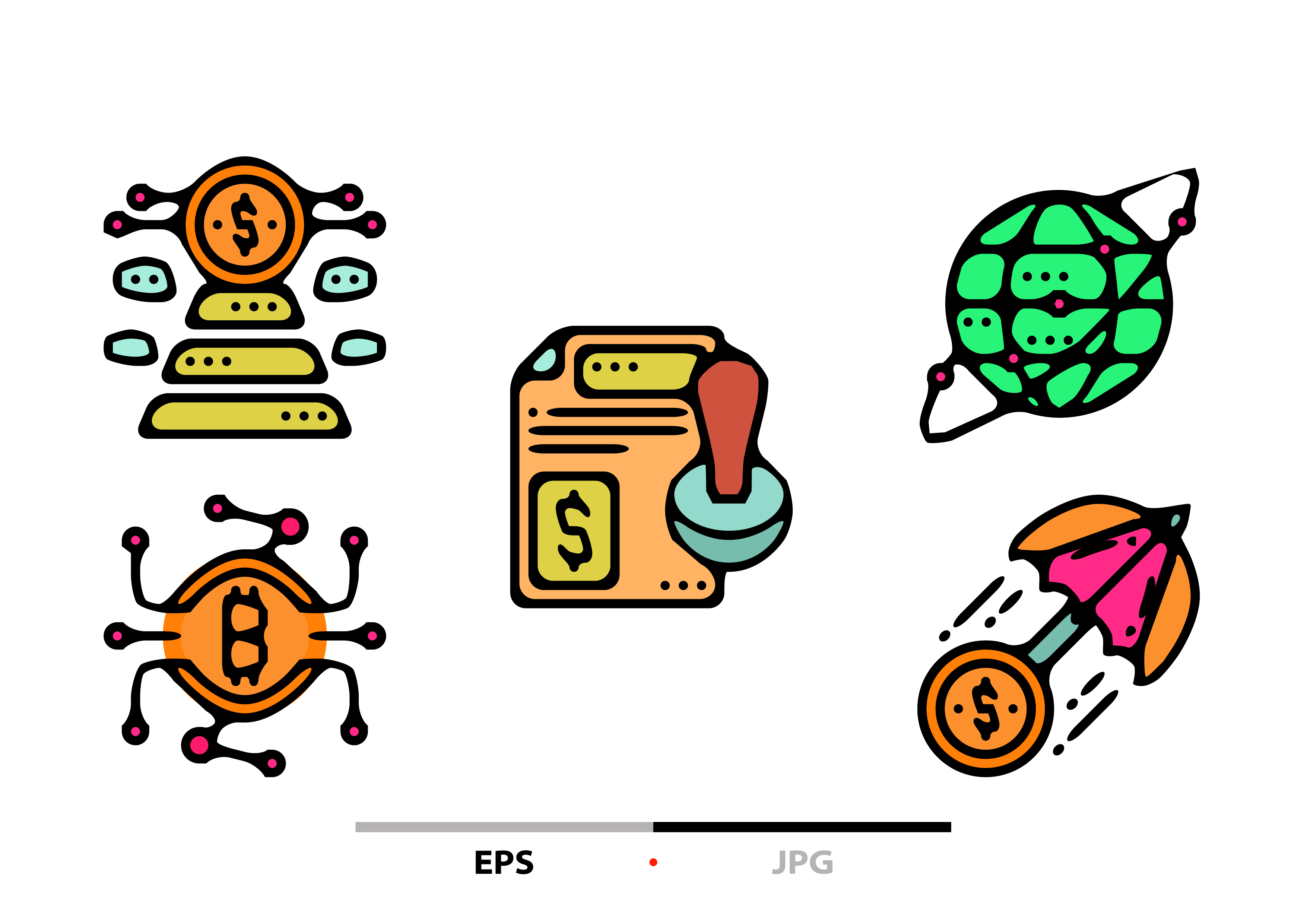 Download Free Crowd Funding Abstract Graphic By Sayangnadyapkm3 Creative Fabrica for Cricut Explore, Silhouette and other cutting machines.