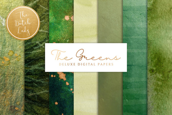 Download Free Digital Backgrounds The Greens Textures Graphic By for Cricut Explore, Silhouette and other cutting machines.