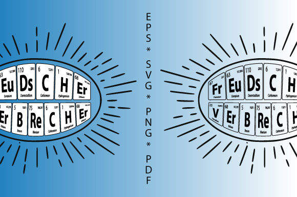 Download Free Periodic Table Psycho Freud Verbrecher Graphic By Graphicsfarm SVG Cut Files