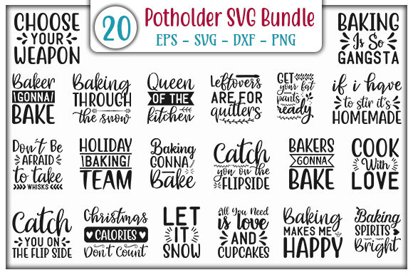 Download Free Potholder Design Bundle Graphic By Graphicsbooth Creative Fabrica for Cricut Explore, Silhouette and other cutting machines.