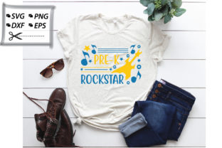 Download Free Pre K Rock Star Graphic Graphic By Svg Store Creative Fabrica for Cricut Explore, Silhouette and other cutting machines.