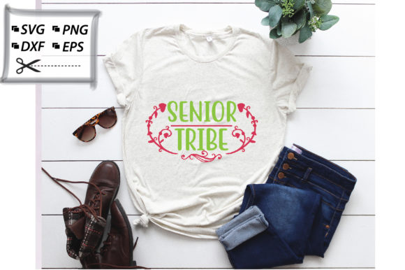 Download Free Senior Tribe Design Graphic By Svg Store Creative Fabrica for Cricut Explore, Silhouette and other cutting machines.