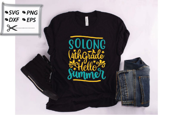Download Free Solong 4th Grade Hello Summer Graphic By Svg Store Creative SVG Cut Files