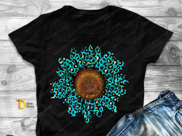 Print on Demand: Sunflowers Sublimation Bundle Graphic Crafts By dina.store4art - Image 4
