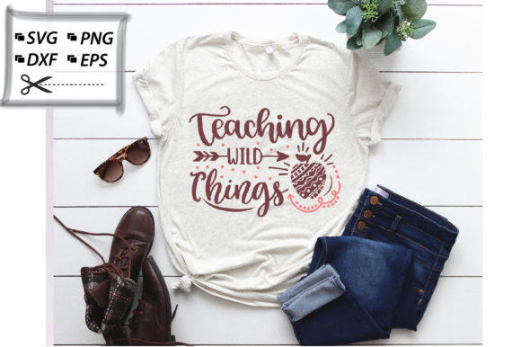 Download Free Teaching Wild Things Graphic By Svg Store Creative Fabrica for Cricut Explore, Silhouette and other cutting machines.