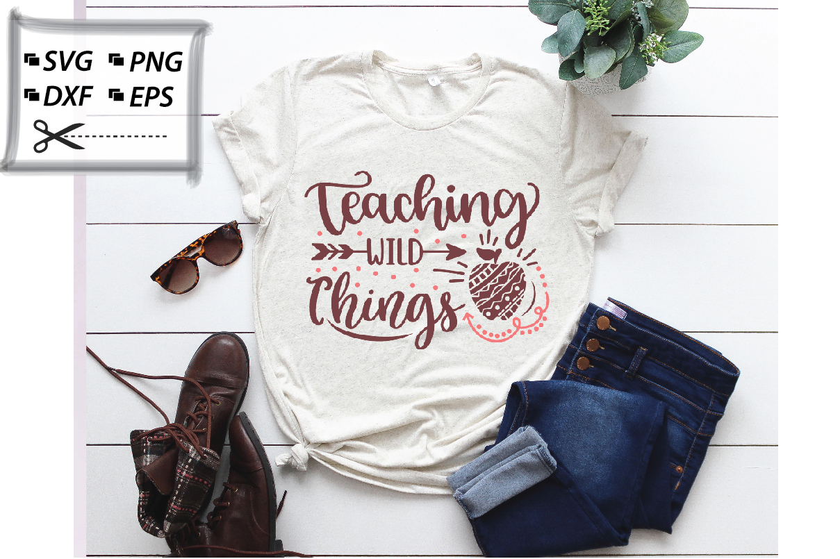 Teaching Wild Things Graphic By Svg Store Creative Fabrica
