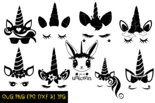 Download Free Unicorn Silhouette Graphic By Denysdigitalshop Creative Fabrica SVG Cut Files