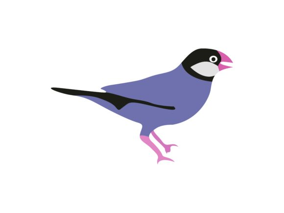 Download Free Finces Bird Animal Graphic By Archshape Creative Fabrica SVG Cut Files
