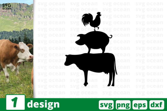 Download Free 1 Animals Farm Quotes Cricut Svg Graphic By Svgocean Creative for Cricut Explore, Silhouette and other cutting machines.