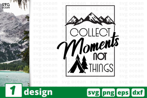 Download Free Collect Moments Graphic By Svgocean Creative Fabrica for Cricut Explore, Silhouette and other cutting machines.