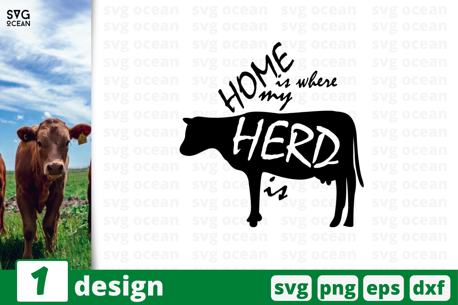 Download Free 1 Cow Farm Quotes Cricut Svg Graphic By Svgocean Creative Fabrica for Cricut Explore, Silhouette and other cutting machines.