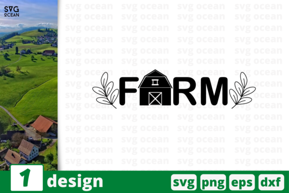 Download Free 1 Farm Farm Quotes Cricut Svg Graphic By Svgocean Creative Fabrica for Cricut Explore, Silhouette and other cutting machines.