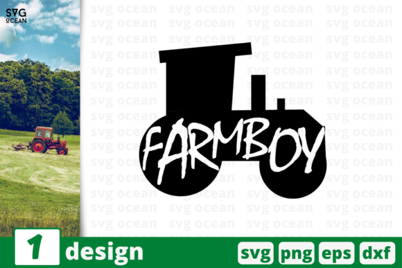 Download Free Farmboy Quote Graphic By Svgocean Creative Fabrica for Cricut Explore, Silhouette and other cutting machines.