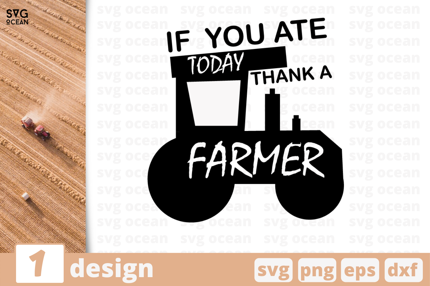 Download Free Farmer Quote Graphic By Svgocean Creative Fabrica for Cricut Explore, Silhouette and other cutting machines.