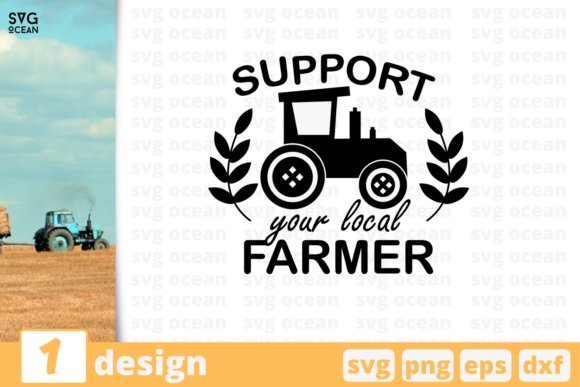 Print on Demand: Farmer Quote Graphic Print Templates By SvgOcean