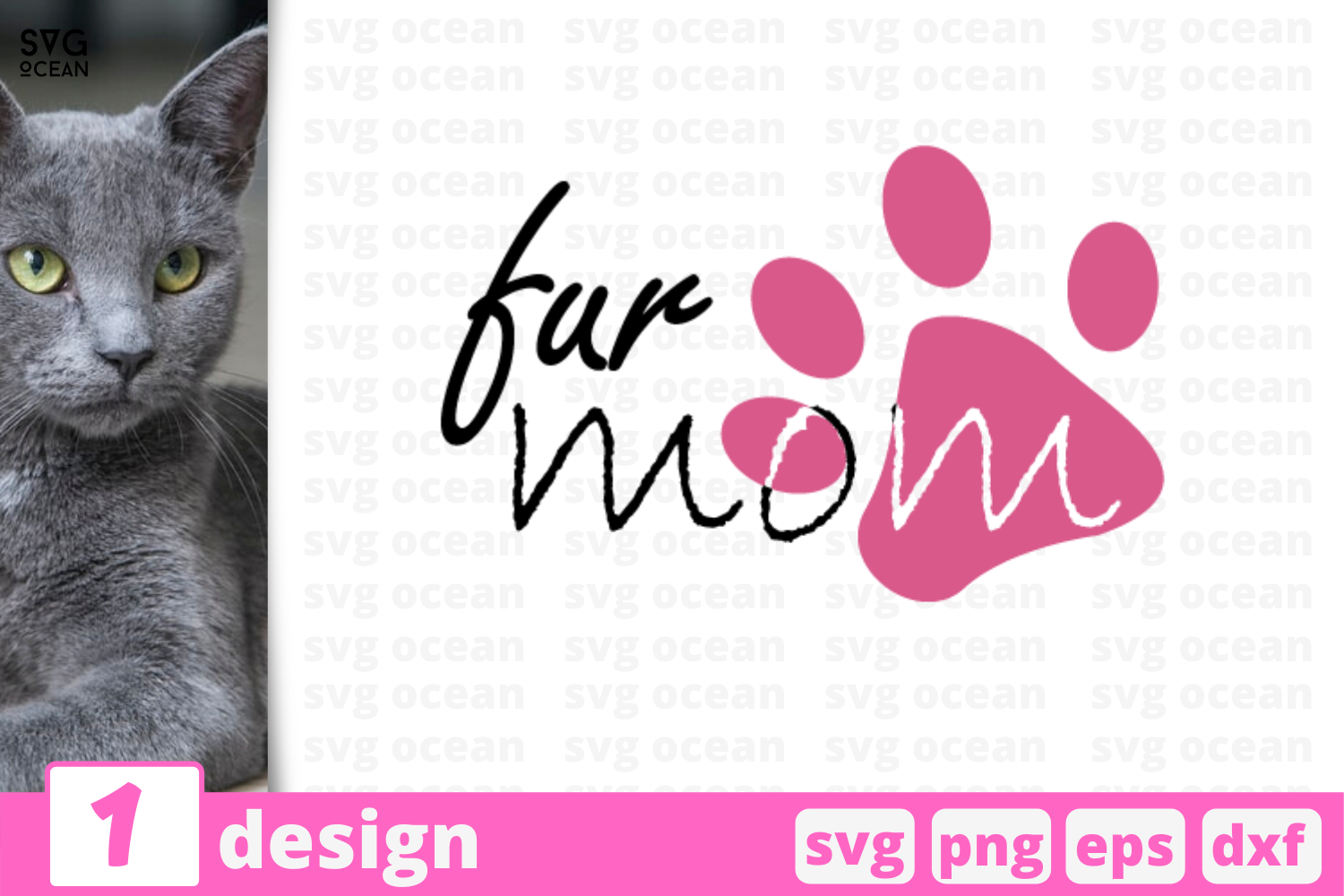 Download Free 1 Fur Mom Svg Bundle Quotes Cricut Svg Graphic By Svgocean for Cricut Explore, Silhouette and other cutting machines.