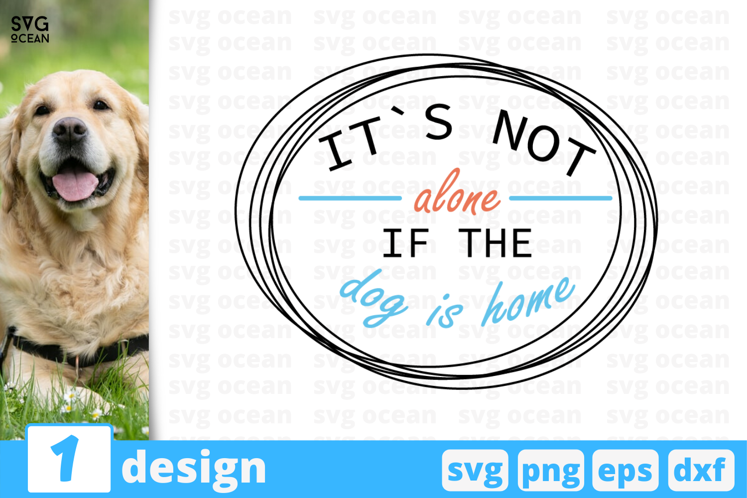 Download Free It S Not Alone Graphic By Svgocean Creative Fabrica SVG Cut Files