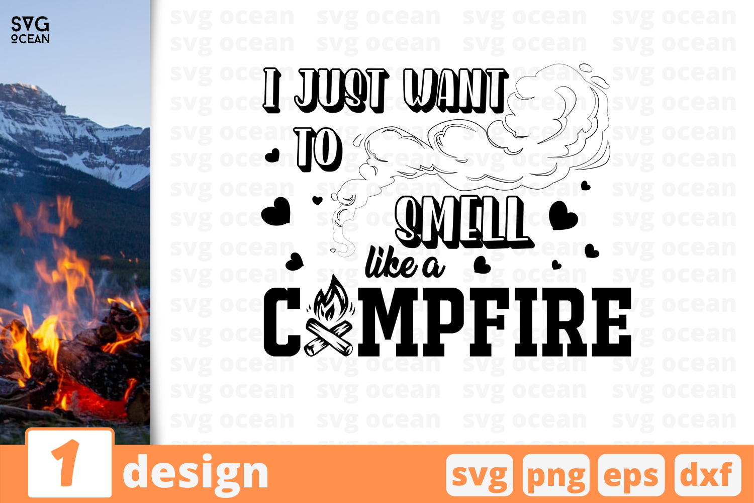 Download Free 1 Like A Campfire Camping Cricut Svg Graphic By Svgocean for Cricut Explore, Silhouette and other cutting machines.