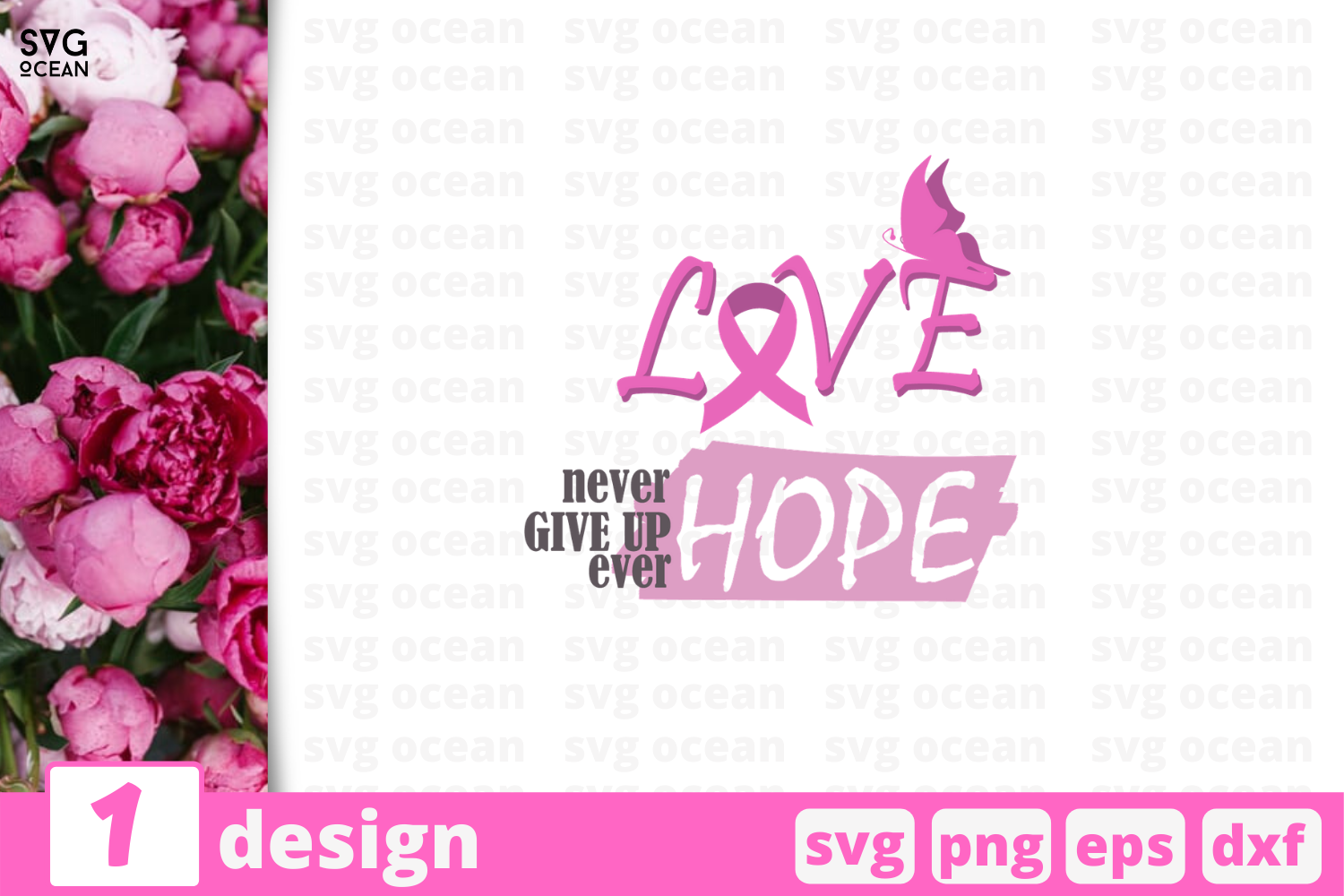 Download Free Love Hope Quote Graphic By Svgocean Creative Fabrica for Cricut Explore, Silhouette and other cutting machines.