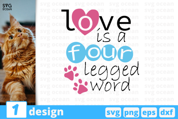 Download Free Love Pets Quote Graphic By Svgocean Creative Fabrica for Cricut Explore, Silhouette and other cutting machines.