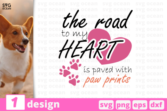 Download Free 1 Paw Prints Pets Quotes Cricut Svg Graphic By Svgocean Creative Fabrica for Cricut Explore, Silhouette and other cutting machines.