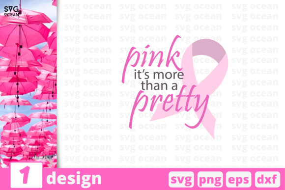 Download Free Pink Pretty Quote Graphic By Svgocean Creative Fabrica for Cricut Explore, Silhouette and other cutting machines.