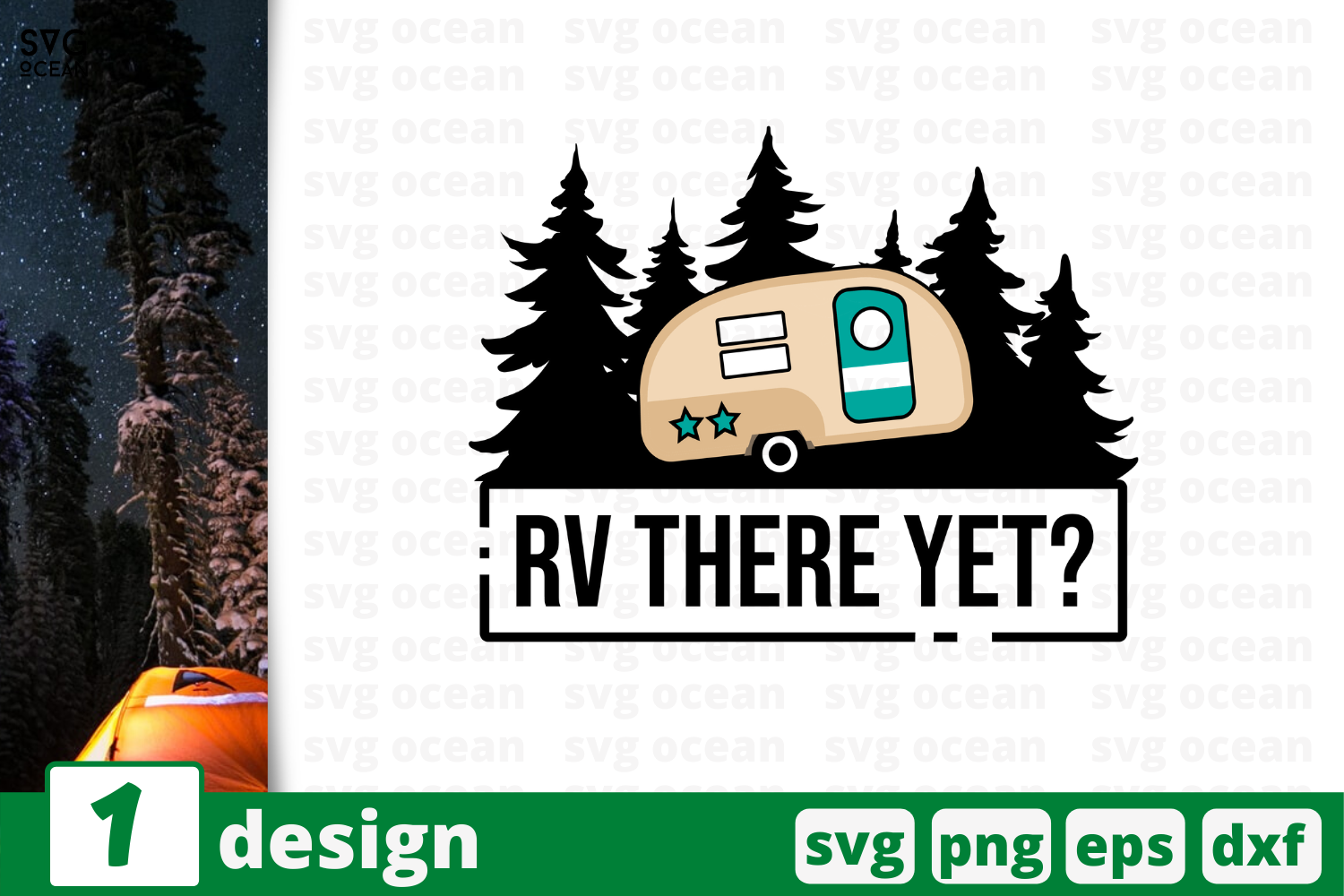 Download Free Rv There Yet Graphic By Svgocean Creative Fabrica for Cricut Explore, Silhouette and other cutting machines.